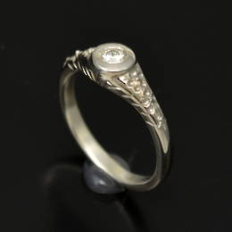 R327 Diamond Engagement ring