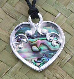 P 41 Koru Heart