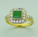 pacifictreasures R293 greenstone and diamond-369